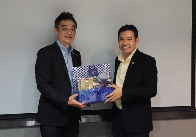 บริษัท NEO เข้าพบผู้บริหารในเครือ อสมท เพื่อหาแนวทางความร่วมมือในการจัดงาน InterCare Asia 2021